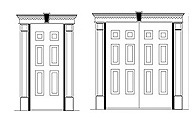 click for Square Pediments