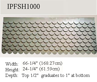 Fishscale Siding For House Gables Decoration That Improve