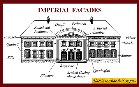 House Fronts, Store Fronts from Imperial Productions 1-800